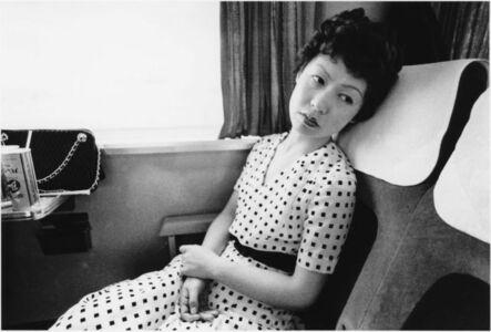Nobuyoshi Araki, 'Yoko on train - Sentimental Journay', 1971