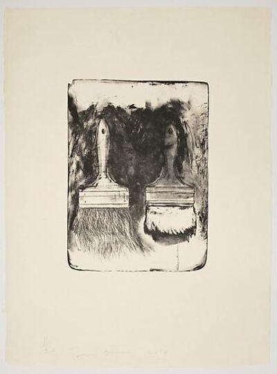 Jim Dine, 'Brushes Drawn on Stones #3', 2010