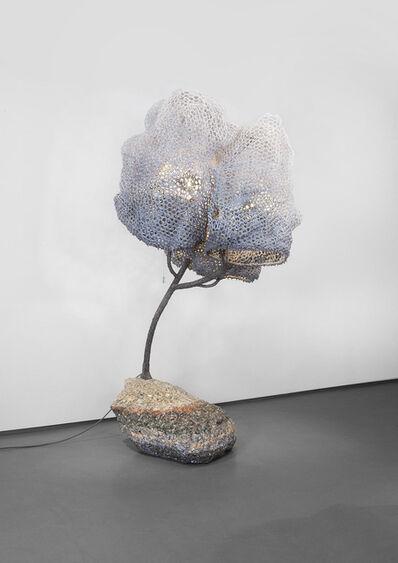 Nacho Carbonell, 'Floor Lamp Concrete Base 10_41/2016', 2016