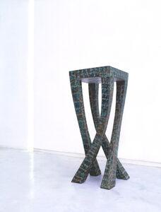 Roland Mellan, 'Stand 'Giraffe'', 2001