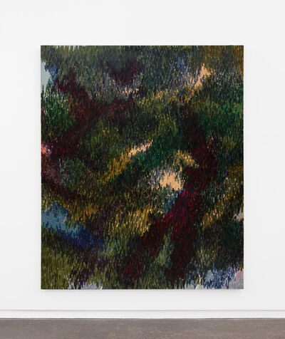 Derek Liddington, 'My movement seemed to follow the shadows as I walked. They watched through the foliage. It was just a dream.', 2021