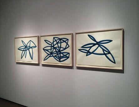 Agnes Barley, 'Untitled (Monochromes Blue) Installation', 2015