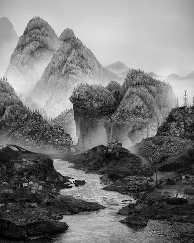 Yang Yongliang 杨泳梁, '太古蜃市 - 沉没 Time Immemorial - Sinking', 2016