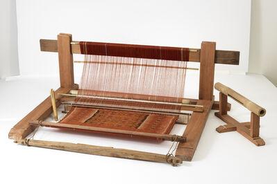 Ngurah Hendrawan and Ni Gede Diari, 'Cagcag (backstrap loom), comprising frame, yoke, shuttle, blade/beater, reed, lease bar, string heddle, and loom cloth', 2017