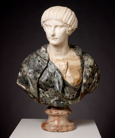 'Portrait of Agrippina the Younger, Roman', ca. 40 A.D.