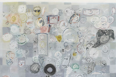 Nate Lowman, 'Nate's Smiley Face Painting', 2010-2012