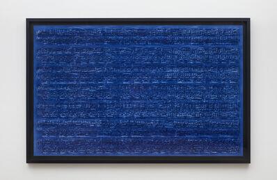 Idris Khan, 'The calm is but a wall', 2019