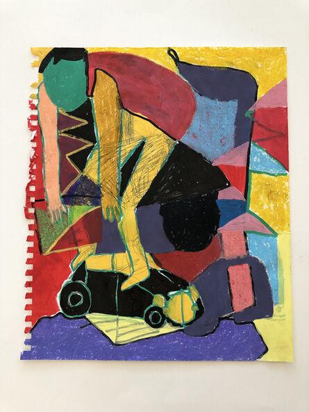 Taj Matumbi, 'Absurd Figure on Buggy', 2020