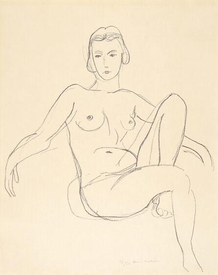 Henri Matisse, 'Nu assis les bras étendus', 1925