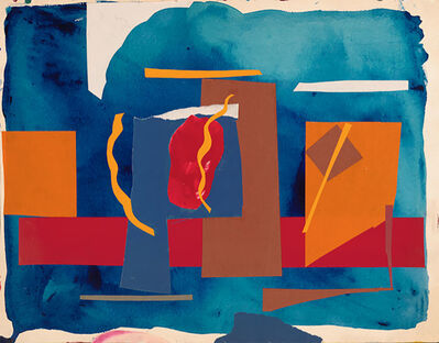 Martha Armstrong, 'Blue Day', 1970