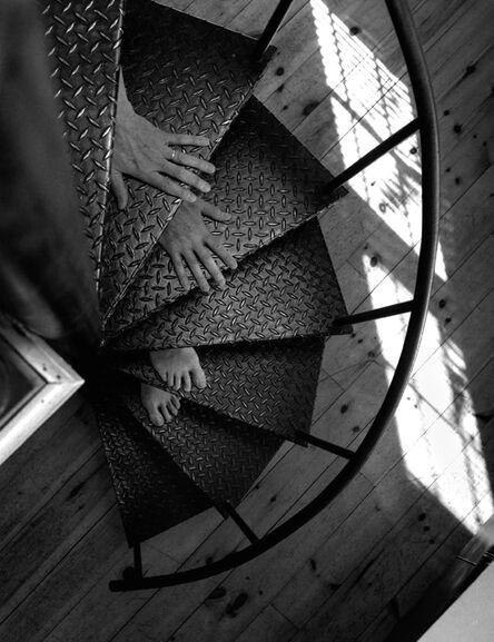 Arno Rafael Minkkinen, 'Nude Descending a Staircase, Rockport, Maine', 2005