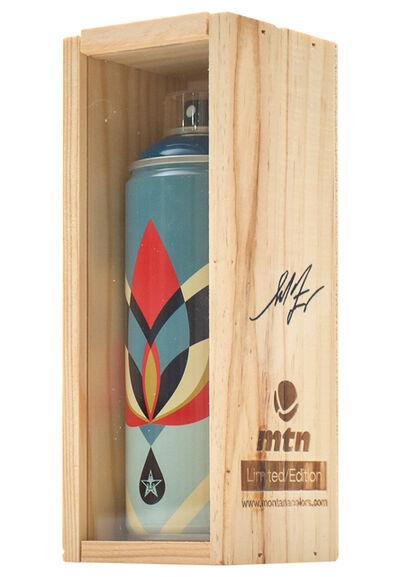Shepard Fairey, 'LOTUS FLOWER (Spray Can)', 2019