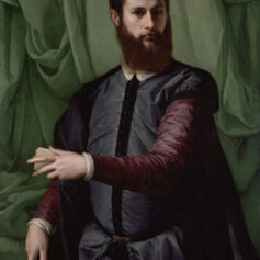 Francesco Salviati, 'Portrait of a Man', 1544-1548