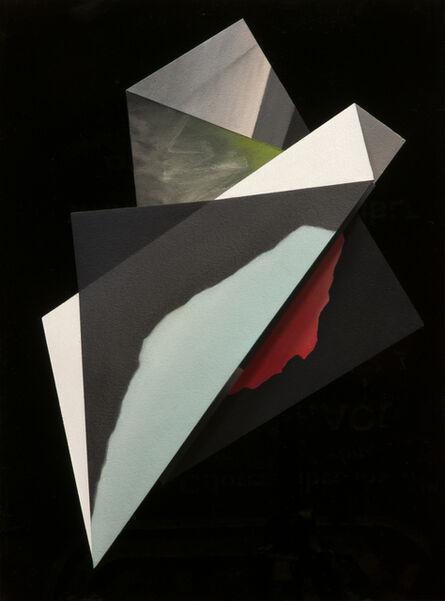 Javier Peláez, 'Pliegue 9( Blkue horizon )'