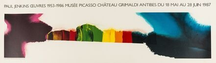 Paul Jenkins, 'A poster for Musée Picasso, Chateau Grimaldi, Antibes', 1987