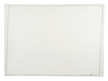 Bob Law, 'Untitled Drawing 5.10.68', 1968