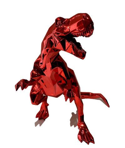 Richard Orlinski, ''T-Rex Spirit' (red)', 2020