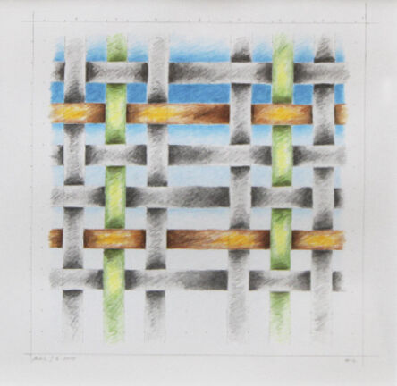 Mark Leonard, '#12 (Study for Weaving #7)', 2010