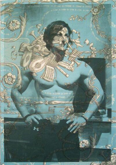 Tim Hailand, 'Sadik (On Blue French Toile)', 2012