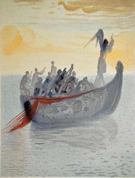 Salvador Dalí, 'The Ship of Souls, Purgatorio canto 2,The Divine Comedy', 1960