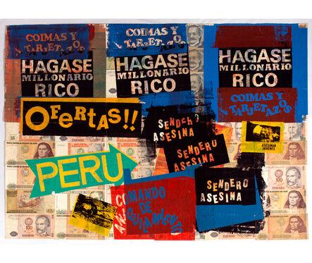 Herbert Rodríguez, 'Hágase rico', 1990