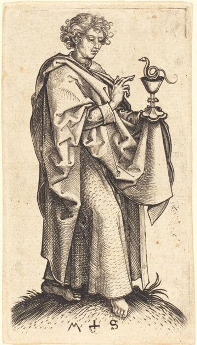 Martin Schongauer, 'Saint John the Evangelist', ca. 1480