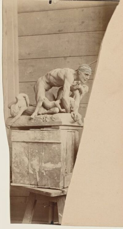 'Ugolin en terre (Ugolin in clay)', 1880-1881