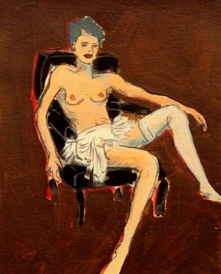 Nora Maciel, 'Chica con Media Blanca'
