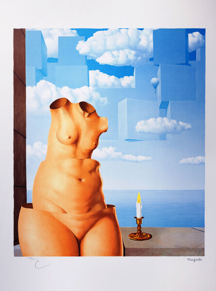 René Magritte, 'La Folie des Grandeurs II (Megalomania)', 2004