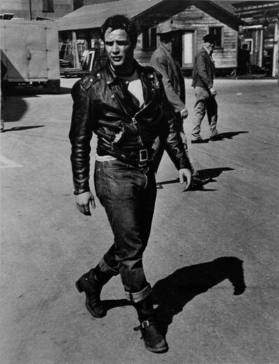 "Phil Stern, 'Marlon Brando (from ""The Wild One"")', ca. 1950"