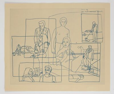 Ida Applebroog, 'Vellum Sketches I', 2011