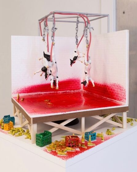 Jen Catron and Paul Outlaw, 'Soothing Desk Fountain I (The Last Meal for the Movement of the Restoration of Ten Commandments of God)', 2018