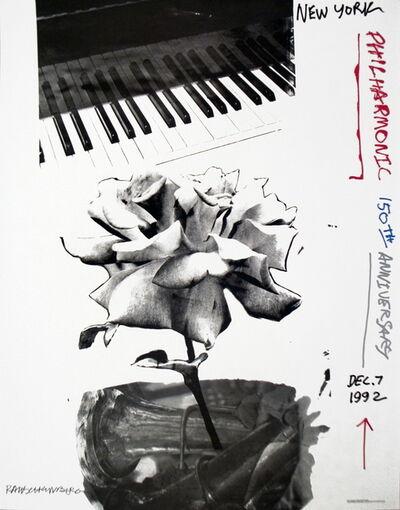 Robert Rauschenberg, 'New York Philharmonic 150th Anniversary', 1992