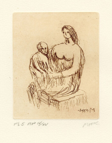 Henry Moore, 'Mother and Child 5', 1983