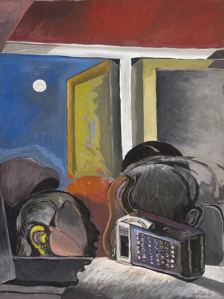 Luigi Guerricchio, 'The radio of emigrant', 1970