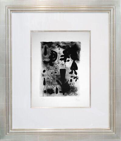 Joan Miró, 'Album 13: Number 74', 1948