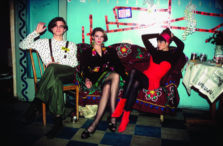 Arthur Elgort, 'Konstantin, Irina & Christy, Leningrad', 1990