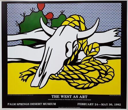 Roy Lichtenstein, 'The West as Art', 1982
