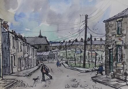 Norman Cornish, 'Salvin Street'