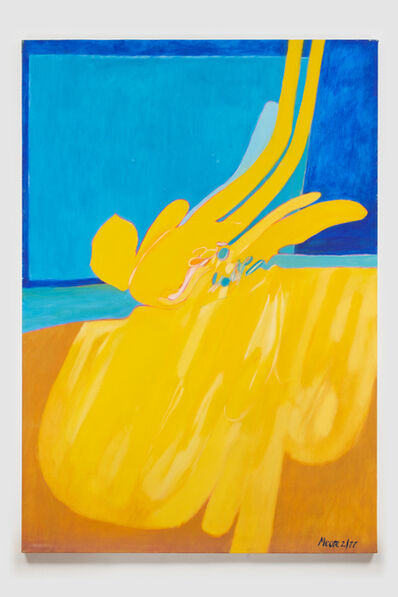 James Moore, 'Untitled I (Yellow Blue)', 1977