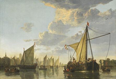 Aelbert Cuyp, 'The Maas at Dordrecht', ca. 1650