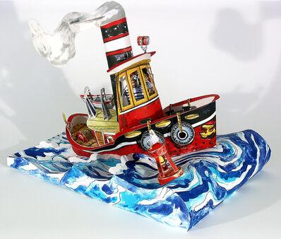 Red Grooms, 'Ruckus Tugboat', 2006