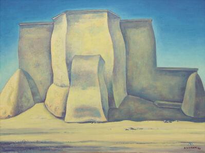 Emil Bisttram, 'Ranchos de Taos Church', 1970
