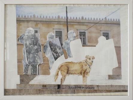 Christine S. Prantauer, 'loukanikos, riot dog 4', 2016
