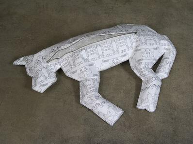 Marina Zurkow, 'Body Bag for Dogs (Polyvinyl Chloride / PVC)', 2013