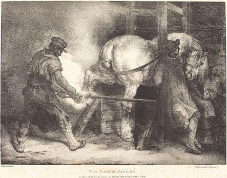Théodore Géricault, 'The Flemish Farrier', 1821