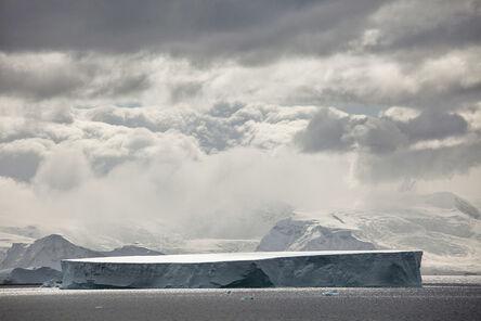 Carolyn Monastra, 'Giant tabular iceberg, Antarctica', 2011