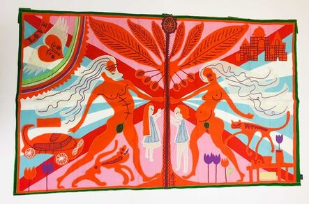 Grayson Perry, 'Marriage Flag', 2018