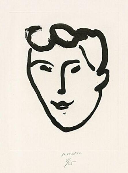 Henri Matisse, 'Masque aux rouleaux ', 1948