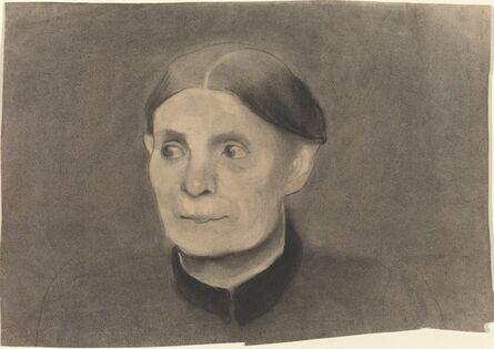 Paula Modersohn-Becker, 'Portrait of a Woman', 1898